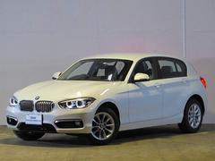 BMW118i スタイル 登録済未使用車 純正ナビ ETC