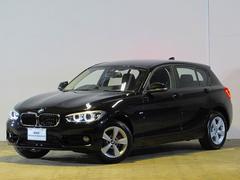 BMW118i スポーツ 登録済未使用車 純正ナビ タッチパネル