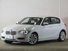 BMW120i スタイル 認定中古車 ハーフレザー ワンオーナー