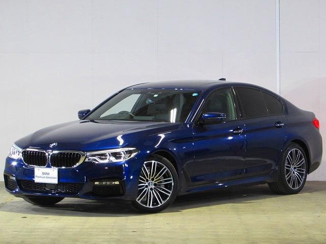 BMW 5シリーズ 523d Mスポーツ 認定中古車 純正ナビ 弊社下取り車