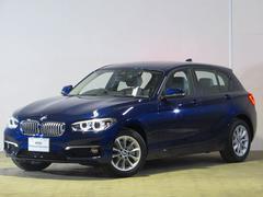 BMW118d スタイル 登録済未使用車 純正ナビ Bカメラ