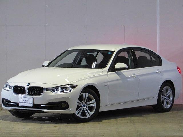 BMW 318iスポーツ 認定中古車 純正ナビ Bカメ 禁煙車
