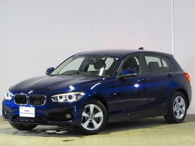 BMW 118d スポーツ 認定中古車 純正ナビ Bカメ 禁煙車