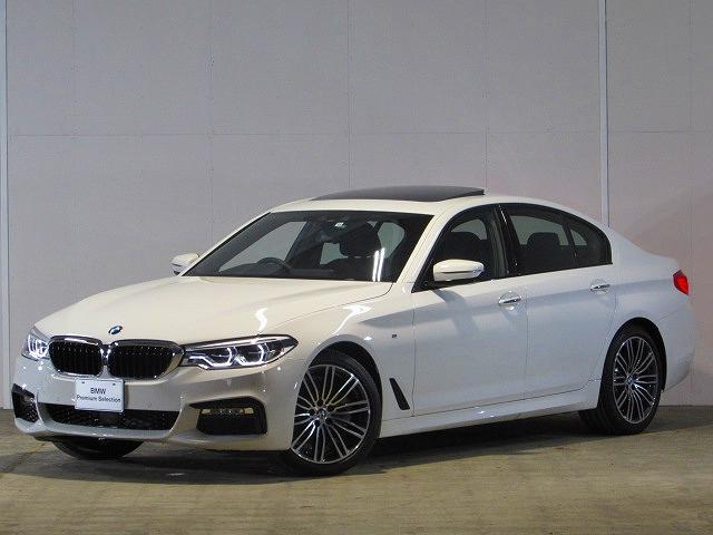 BMW 523i Mスポーツ 登録済未使用車 純正ナビ SR ACC