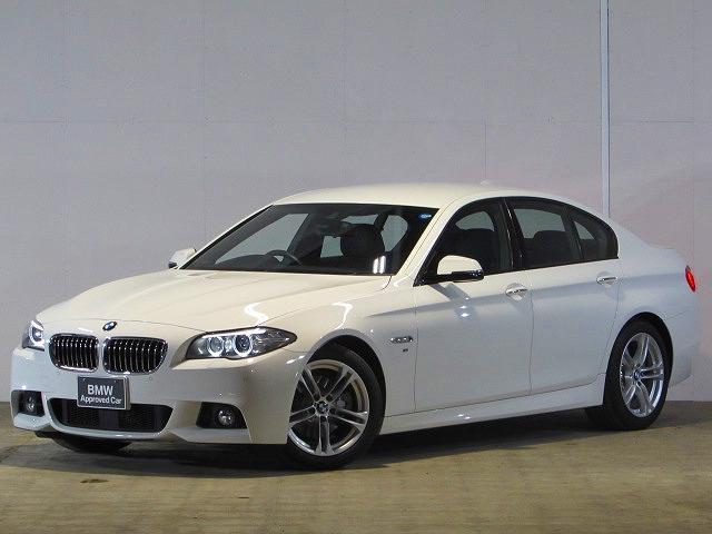 BMW 528i Mスポーツ認定中古車 純正ナビ 禁煙車 ワンオーナ