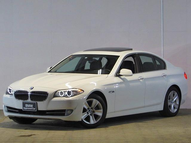 BMW 528i 認定中古車 左H SR 黒レザー 禁煙車