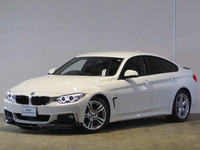 BMW 420iグランクーペ Mスポーツ 認定中古車 純正ナビ