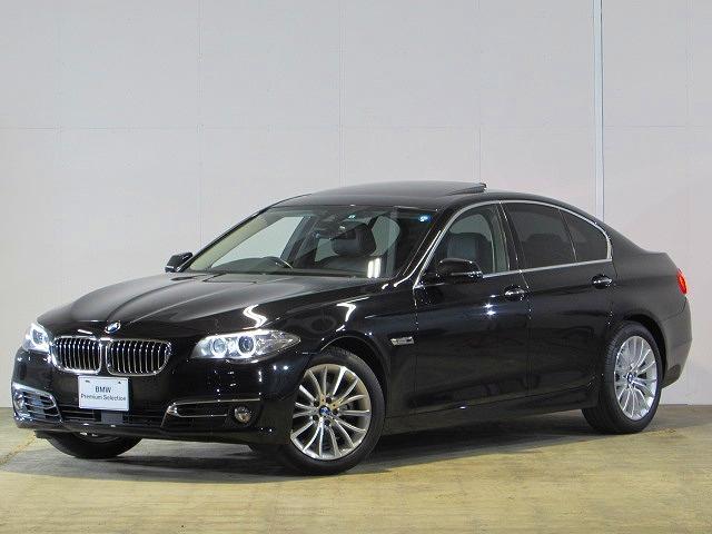 BMW 523iラグジュアリー 認定中古車 純正ナビ SR ACC