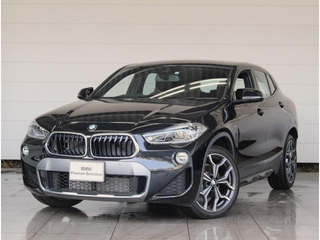 BMW X2 xDrive 18d MスポーツX アドバンストアクティブセーフティパッケージ コンフォートパッケージ アクティブクルーズ ヘッドアップディスプレイ シートヒーター コンフォートアクセス 電動リアゲート ETC2.0 安全装備