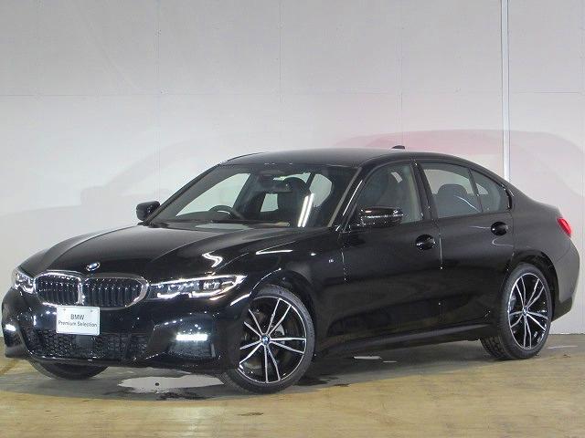 BMW 3シリーズ 320i Mスポーツ 認定中古車 純正ナビ ブラックレザー シートヒーター バックカメラ 障害物センサー 衝突軽減ブレーキ 電動リアテールゲート コンフォートアクセス LEDヘッドライト 19インチアロイ ミラー内蔵ETC
