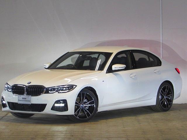 BMW 320i Mスポーツ 認定中古車 ワンオーナー 禁煙車 純正HDDナビ ブラックレザー ヘッドアップディスプレイ バックカメラ 障害物センサー ETC コンフォートアクセス LEDヘッドライト 電動リアゲート SOSコール