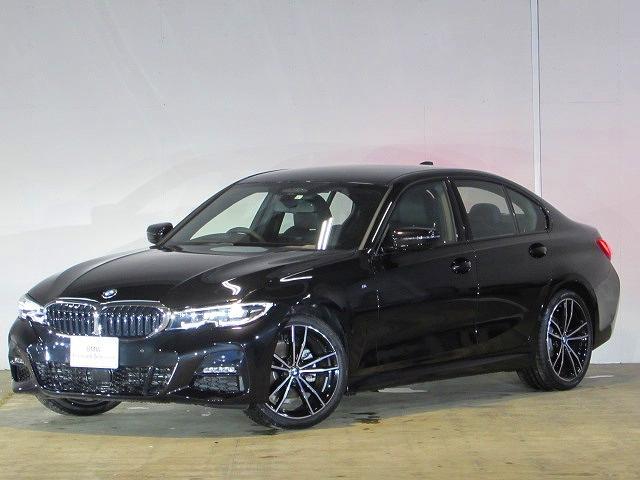 BMW 320i Mスポーツ 認定中古車 ワンオーナー 禁煙車 純正HDDナビ ブラックレザー LEDヘッドライト ETC ACC ヘッドアップディスプレイ HIFIスピーカー ワイヤレスチャージ アンビエントライト