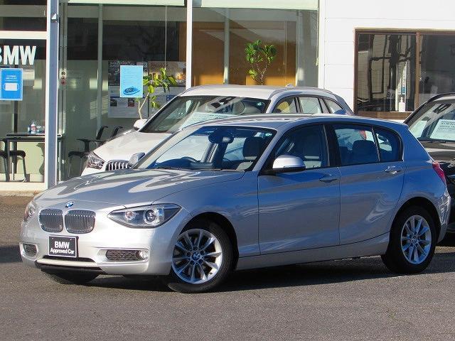 BMW 1シリーズ 116i スタイル 認定中古車 純正HDDナビ 社外ETC キセノンヘッドライト ブラックハーフレザー Bluetooth 純正16インチアロイホイール アイドリングストップ オートライト USB AUX