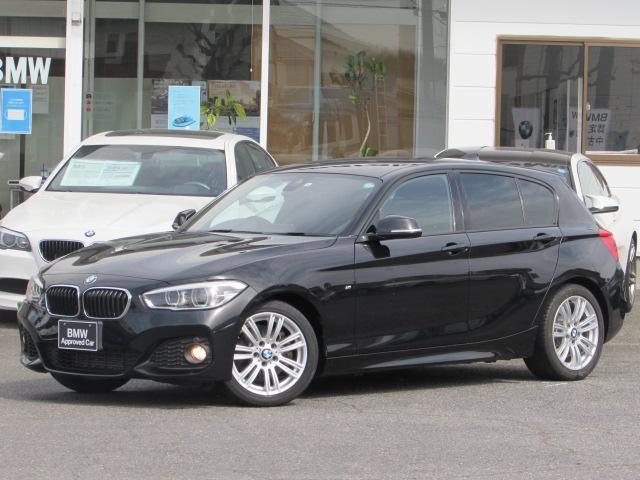 BMW 118i Mスポーツ 認定中古車 純正HDDナビゲーション LEDヘッドライト ルームミラー内蔵ETC アルカンタラクロス インテリジェントセーフティー アイドリングストップ バックカメラ 障害物センサー SOSコール