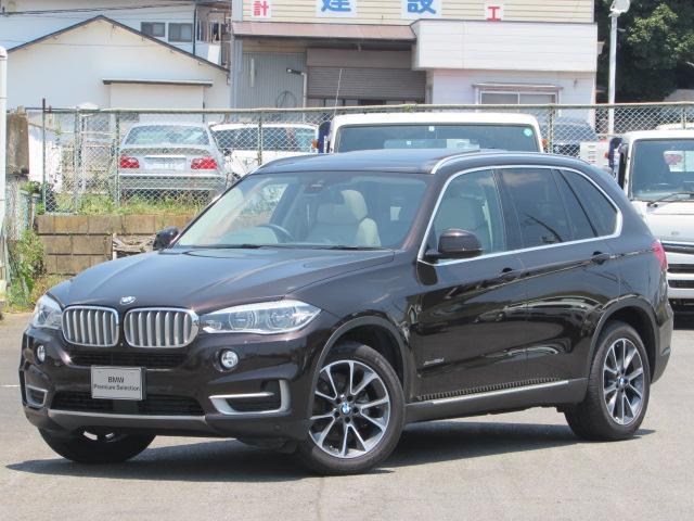 BMW xDrive 35d xライン 認定中古車 パノラマガラスサンルーフ 純正HDDナビ インテリジェントセーフティー アイボリーレザー 3列シート シートヒーター シートエアコン バックカメラ 障害物センサー ソフトクローズドア