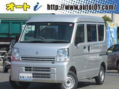 エブリイPC 届出済未使用車 新車保証 ガラスコーティング ABS