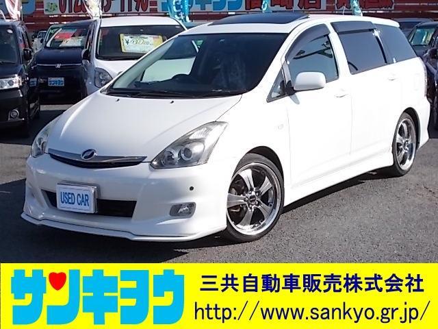 トヨタ X エアロスポーツpkg HDDナビ Sルーフ 18inAW