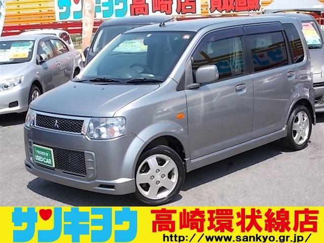 三菱 eKスポーツ R4WDターボ SDフルセグナビTV 純正アルミ