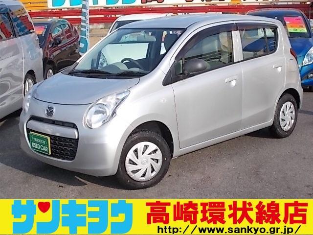 マツダ ECO-L 走行7.070キロ 純正CD アイドリングストップ 禁煙車