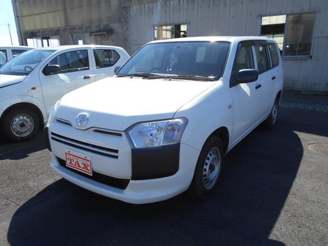 トヨタ プロボックス DXコンフォート 純正CDラジオ Wエアバック ABS フロントパワーウィンドウ キーレス