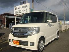 N−BOXカスタムG・Lパッケージ 4WD ETC ナビ