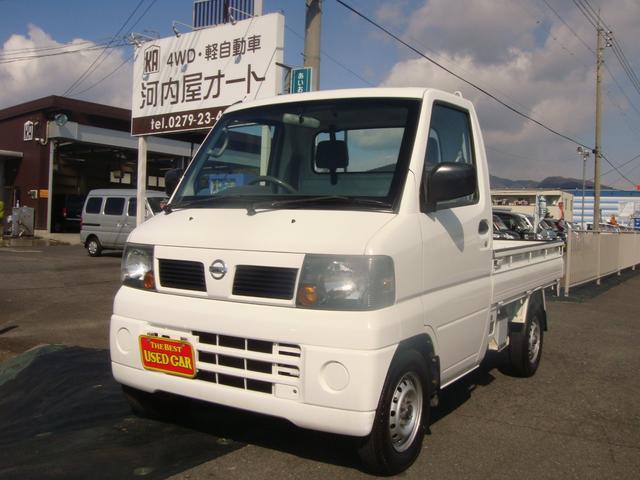 日産 DX 4WD エアコン パワステ