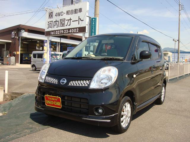 日産 モコ E FOUR エアロスタイル 4WD タイヤ新品