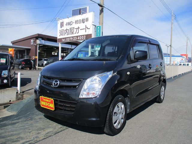 マツダ AZワゴン XG 4WD スタッドレスタイヤ