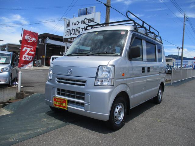 マツダ PC 5速 4WD スタッドレスタイヤ