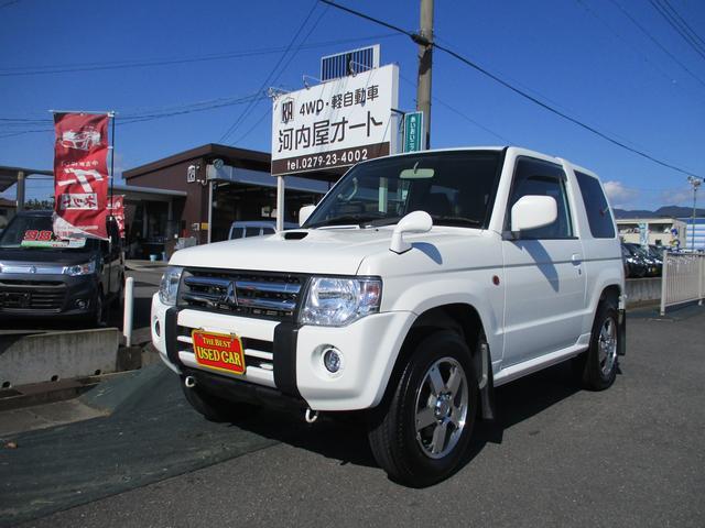 三菱 パジェロミニ VR 4WD/ターボ/5速/シートヒーター/フォグランプ
