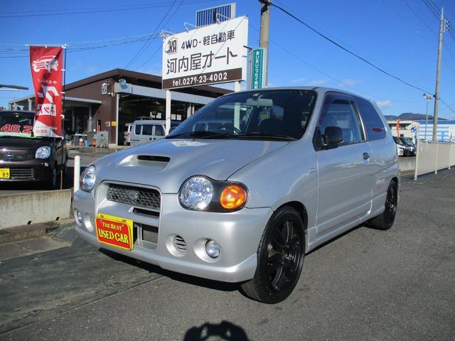 スズキ RS/Z RS/Z(4名) 4WD/5速/社外アルミ16インチ/ターボ/ナビテレビ/車高調/社外マフラー
