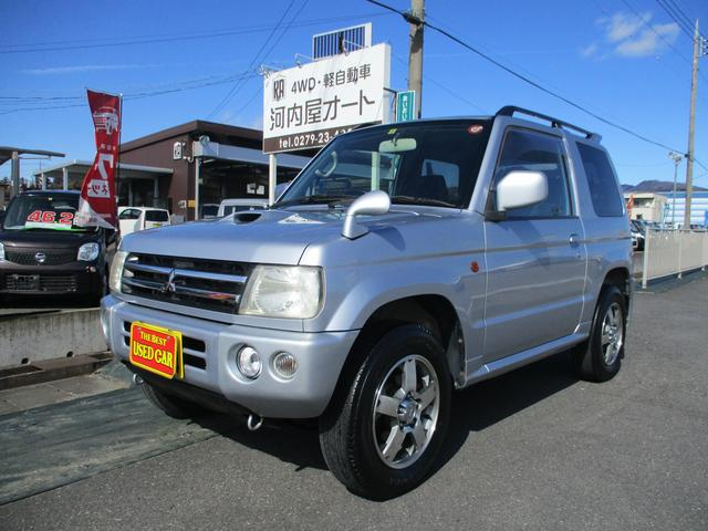 三菱 パジェロミニ アクティブフィールドエディション 4WD/ターボ/純正アルミホイール