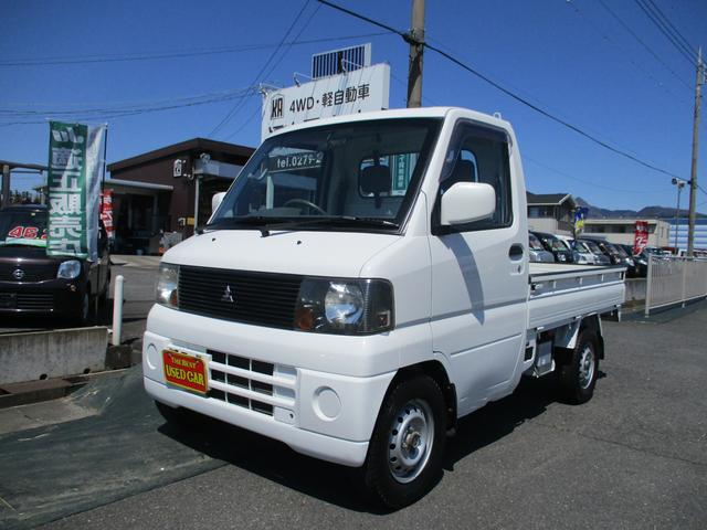 三菱 ミニキャブトラック VX-SE 4WD/パワステ/エアコン/スタッドレスタイヤ