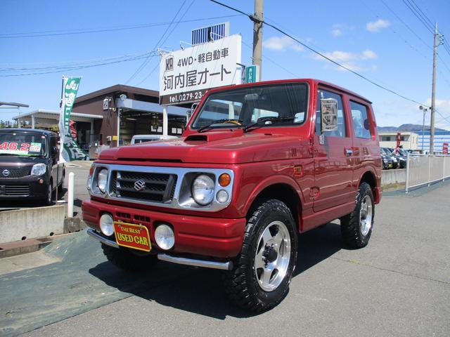 スズキ ジムニー XL 4WD/ターボ/タイミングベルト済/社外ハンドル/タイヤ4本新品/ETC