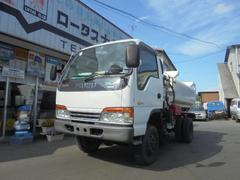 エルフトラック4WD 3klタンクローリー 2リール タンク検査済み証付き