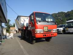 エルフトラック4WD 3klローリー 2槽 タンク書類あり 極東製 灯軽油