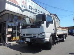 エルフトラック4WD 3.5t 平ボディー PG付
