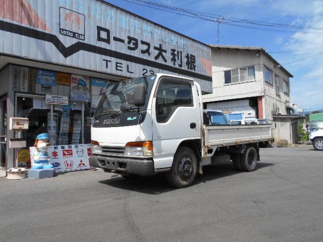 いすゞ エルフトラック 4WD 1.5t 平ボディー フリーハブ