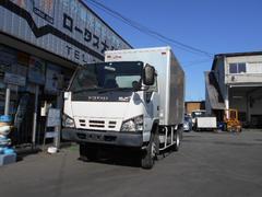 エルフトラック4WD 垂直パワーゲート付アルミバン 5速 スムーサー