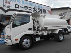 ダイナトラック4WD 3.6klローリー タンク検査書類有 車両仕上げ済