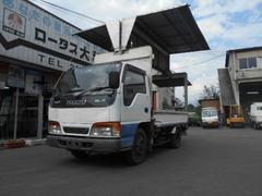 エルフトラック4WD 1.35t 電動幌ウイング