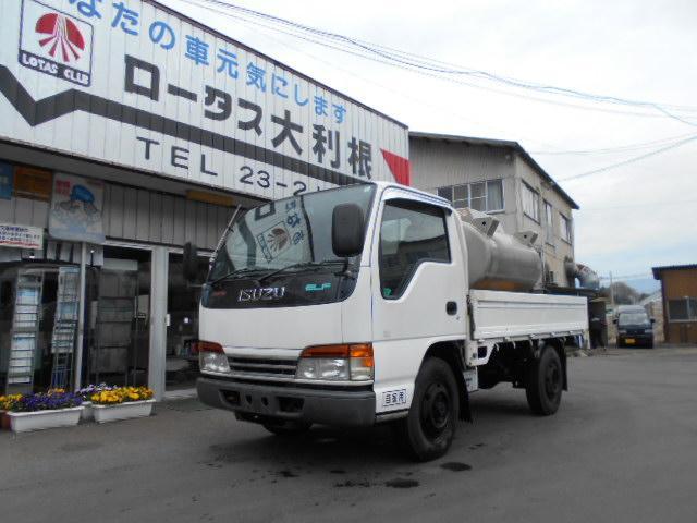 いすゞ エルフトラック 4WD 1.5t シングルタイヤ 高床