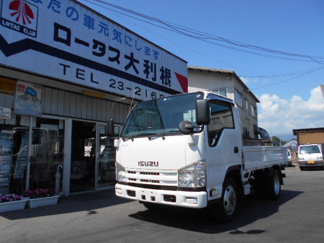 いすゞ 4WD切替 1.5t 全低床 Wタイヤ