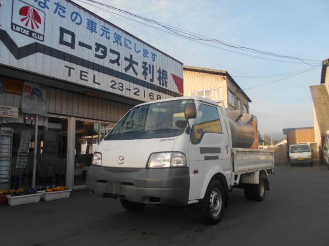 マツダ ボンゴトラック 4WD DX 1KLタンクローリー エアコン Wタイヤ