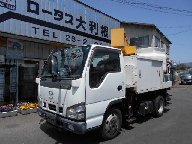 マツダ 4WD PTO 高所作業車 エアコン パワステ