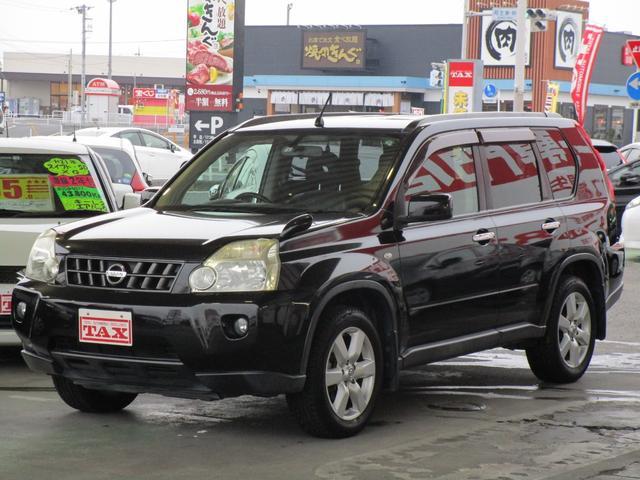 日産 エクストレイル 20Xtt 4WD ワンオーナー 禁煙車 純正HDDナビ・ワンセグTV バックカメラ