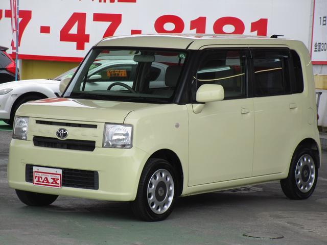 トヨタ ピクシススペース X キーフリー オートエアコン CDコンポ ETC 禁煙車