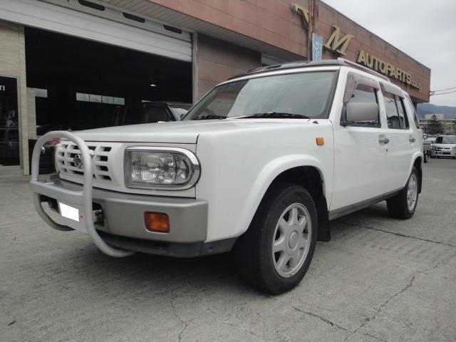 日産 タイプIII 4WD グリルガード サンルーフ リアトレイ