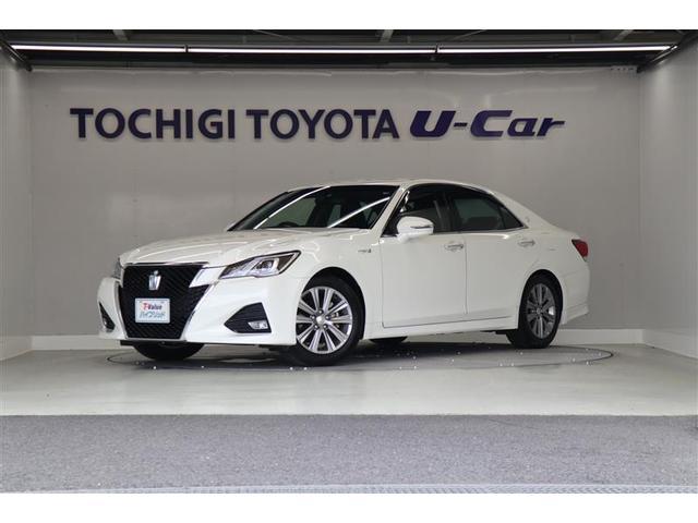 トヨタ アスリートG 本革パワーシート・メーカー装着ナビ・ETC
