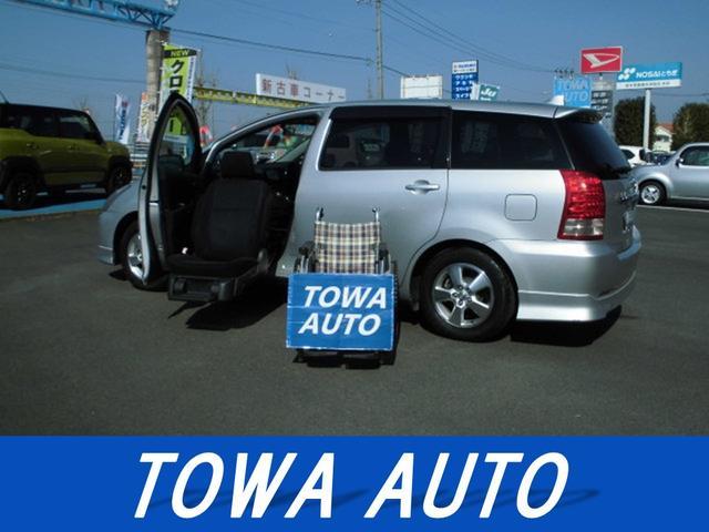 トヨタ G 助手席リフトアップシート Aタイプ リモコン付 純正HDDナビ 地デジ HID